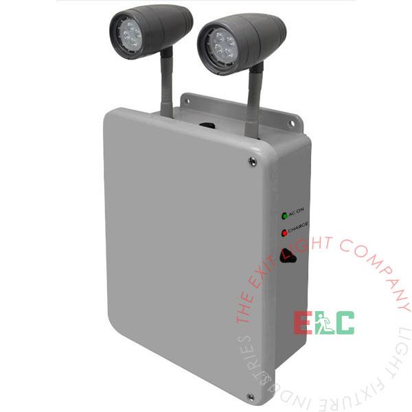 Emergency Light | 18-360W Capacity | NEMA 4X Rated | 6 Week Lead Time
