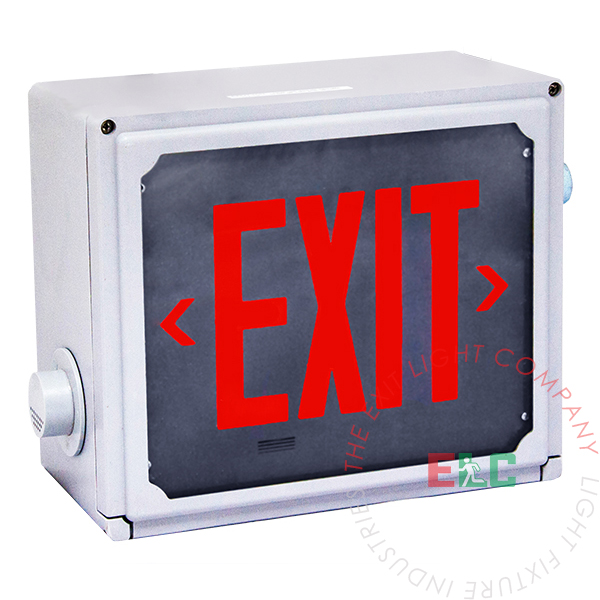 Exit Sign | Class 1 Div 2 Hazardous Location |10-12 Week Lead Time