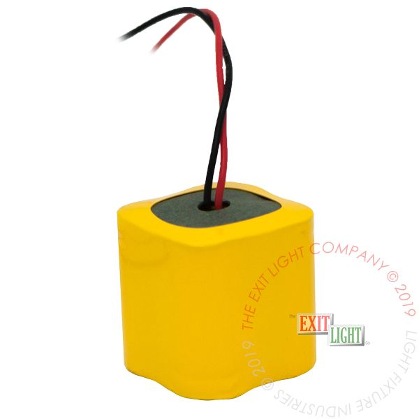 The Exit Light Co. - Battery 2/3 AA NiCad 4.8V 400mAh