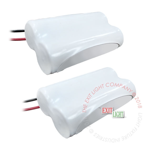 Battery AA NiCad 2.4V 300mAh (2 Per Pack)