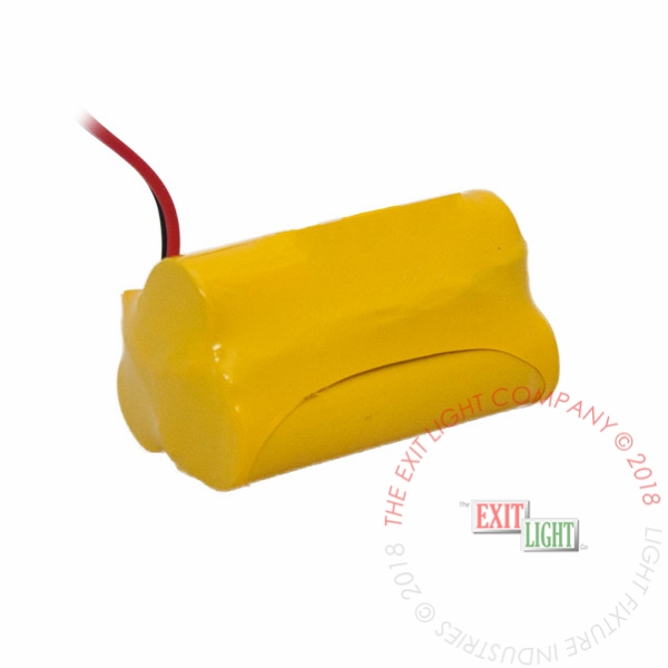 Battery AA NiCad 3.6V 1800mAh - 1x3 Triangle