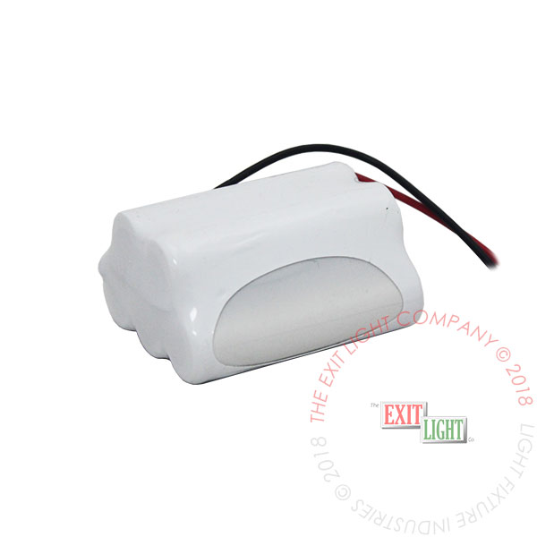 Battery AA NiCad 6.0V 700mAh