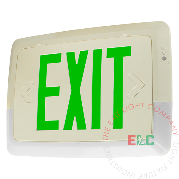 Low Level All LED Exit Light Combo
