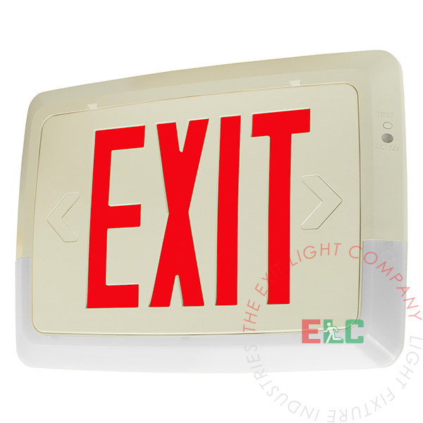 Low-Level All LED Exit Light Combo