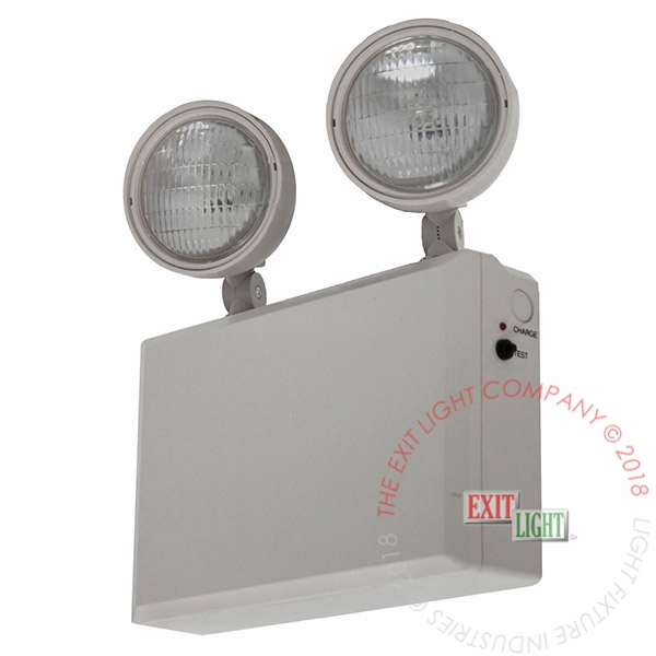 The Exit Light Co. - Industrial Emergency Light | 12 Volt | 50 or 100 Watt