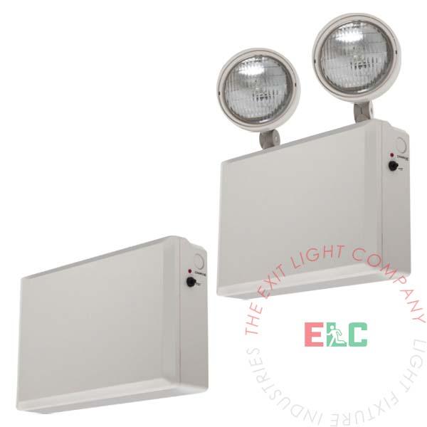 Remote Head Capable Industrial Emergency Light | 12 Volt | 50 or 100 Watt | Optional Lamp Heads