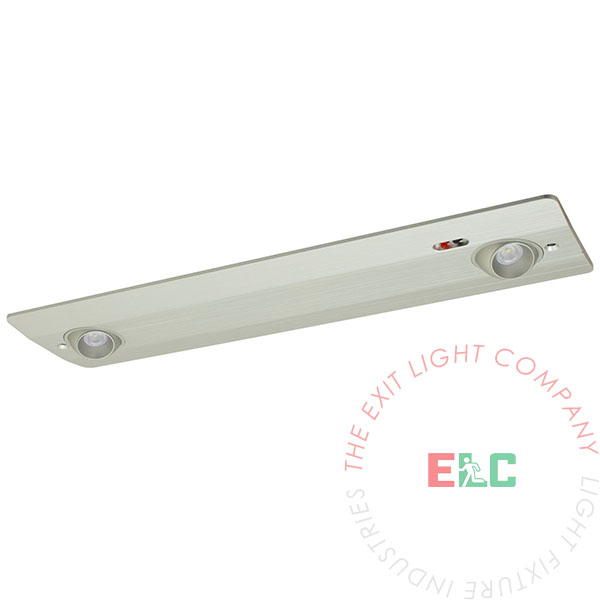 LED Recessed Emergency Light | Ceiling and Wall Mount | Adjustable Lamps