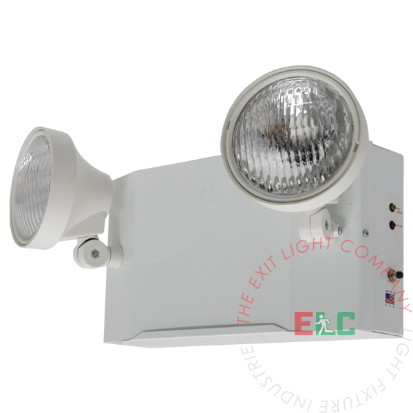 NYC Steel Emergency Light | Bug Eye Round Head | 6 Volt 9 Watt