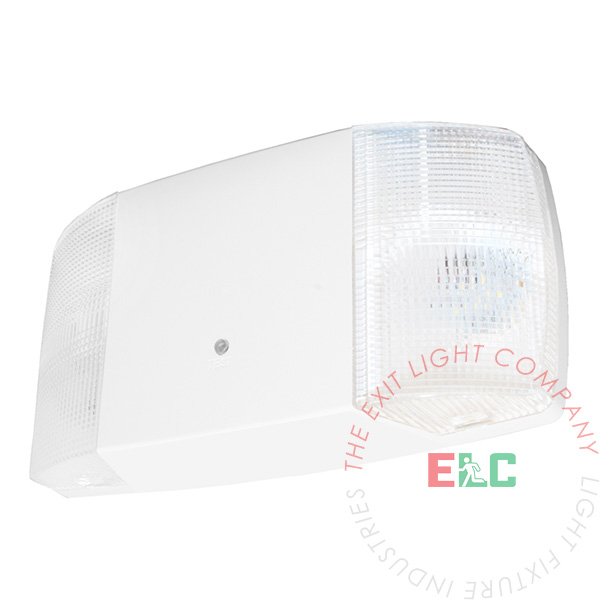 LED Emergency Light | White Housing | Fixed Lamps