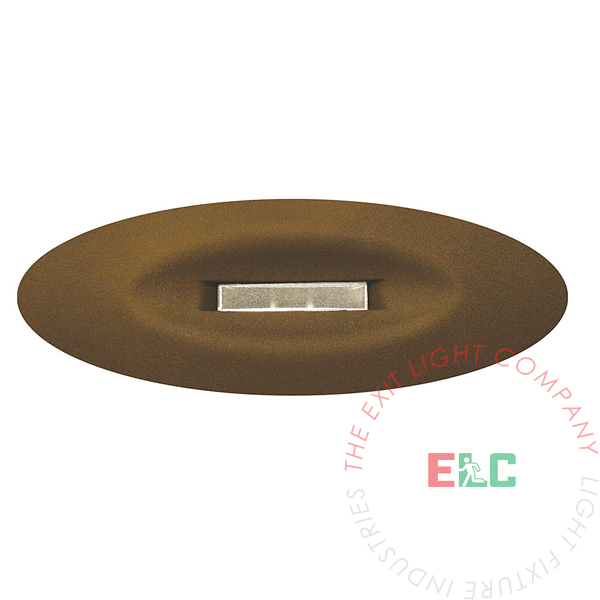 Oval Emergency Recessed Light | UL 924 | 10-12 Week Lead Time