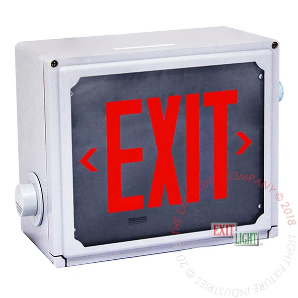 Exit Sign | Class 1 Div 2 Hazardous Location **10-12 Week Lead Time**