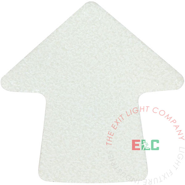 "The Exit Light Co. - 3"" Arrow Non Slip Photoluminescent (20 per pack)"