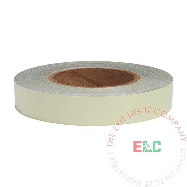 "1"" x 100' Roll Photoluminescent Egress Tape"