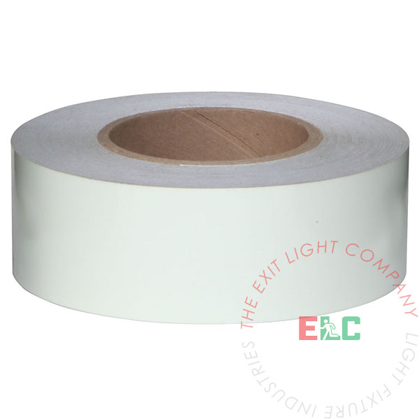 "2"" x 100' Roll Photoluminescent Egress Tape"