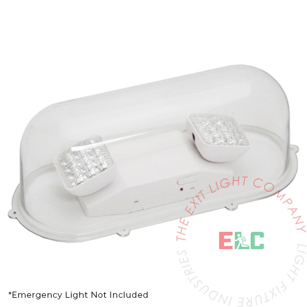 Emergency Lights Clear Shield Guard - Polycarbonate