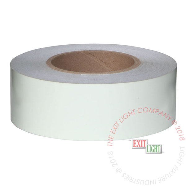 "2"" x 100' Roll Photoluminescent Tape"