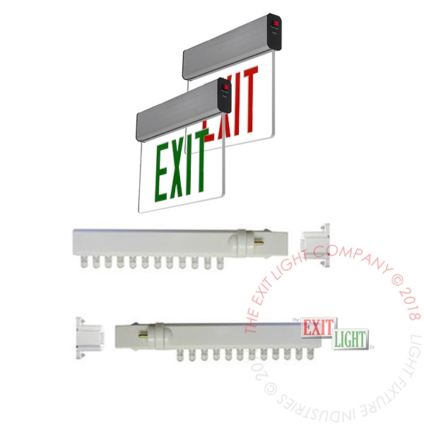 LED Retrofit Kit for Edge Lit Exit Signs