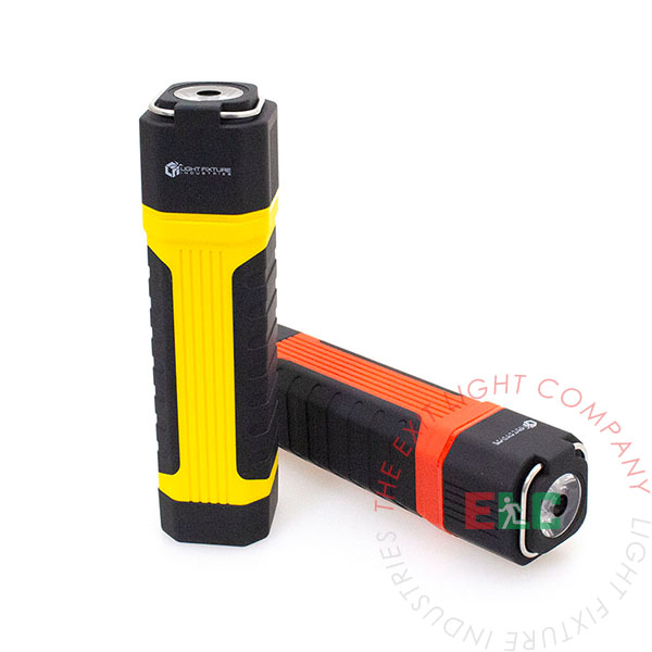 2 in 1 LED Flashlight / Pull Out COB Torch Work Light (4 Pack)