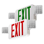 Exit Sign / Emergency Light Combo