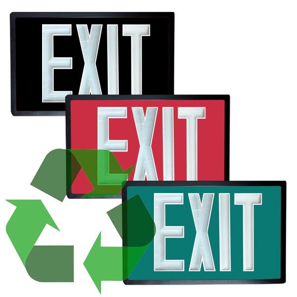 Tritium Self Luminous Exit Signs Exit Light Co