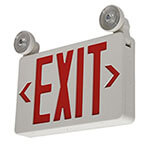 Featured Combo Exit Light